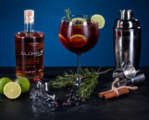 Der ideale Winter Gin! Der super leckere GLUEHGIN Cranberry ist ein pures Geschmackserlebnis!